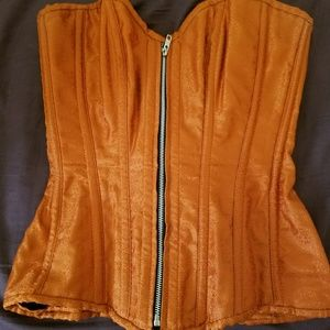 Other - Orange corset